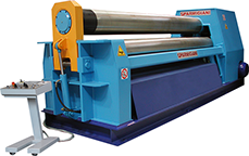 plate rolling machine; plate rolls